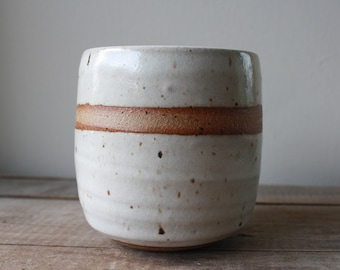 Tea Bowl - Whiskey Cup - Wine Glass - Handmade - Ceramics & Pottery - KJ Pottery