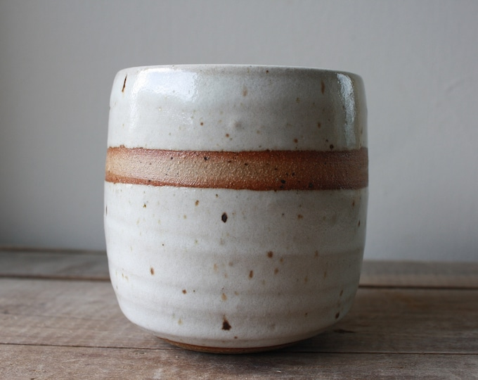 Tea Bowl - Whiskey Cup - Wine Glass - Handmade - Ceramics & Pottery - KJ Pottery