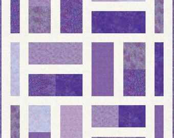 Fat Dominoes, Quilt pattern, Queen, Lap, Fat Quarters, Northcott, Shimmer, Easy