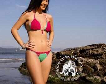 Annelise Crochet Bikini   Bikini Crochet   Bikini Set   Bikini   Cheeky Bikini   Crochet   Crochet Bikini Set   Crochet Swimwear   Swimwear