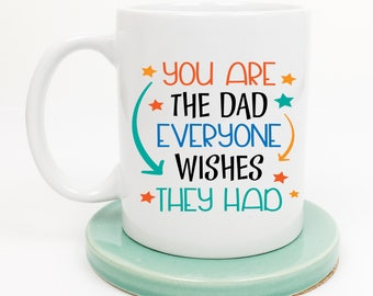 Dad Mug, Fathers Day Mug, Gift for Dad, Gift from Child, Gift from Son, Daddy Mug, New Dad Mug, Father Mug, Gift from Kids, Gift under 20
