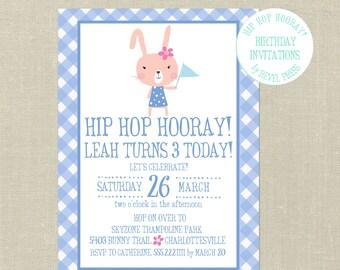 Printable Custom Easter Invitation--Easter Egg Hunt