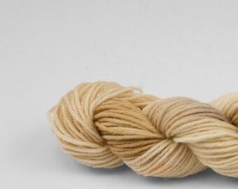 Mini skein, handpainted yarn, Merino and Nylon, Fingering/Sock, Splash, Yellowstone