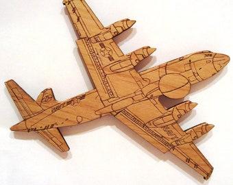 EP-3 (VQ-2) Wooden Fridge Magnet
