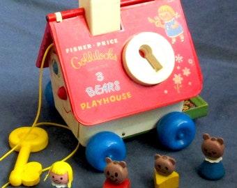 Fisher-Price Toy 151 Goldilocks & the Three Bears