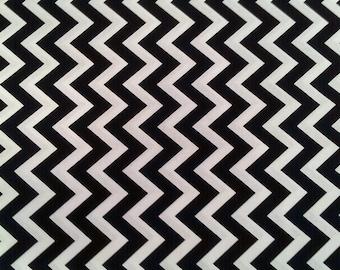 Black & White Chevron-Large