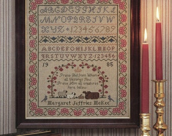 Doxology Sampler Leaflet for Counted Cross Stitch - #1L