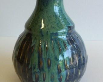 light blue-green vase