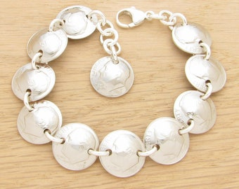 For 35th: 1983 US Dime Bracelet Coin Jewelry 35th Birthday Gift or 35th Anniversary Gift