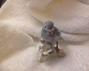 Vintage porcelain bird