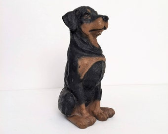 Rottweiler Figurine, made by Universal Statuary co.