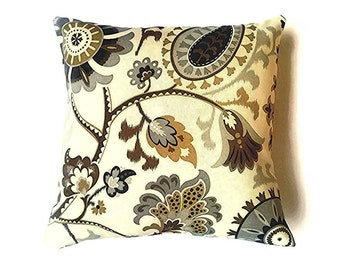Indoor decorative pillow cover (Waverly)