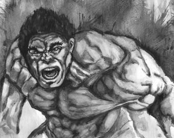 Hulk 11X17 Art Print