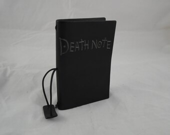 Death note leather reusable A6 notebook