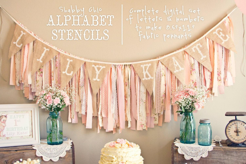 Instant download printable alphabet stencils for fabric banner zoom spiritdancerdesigns Choice Image