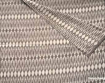 Flat 20% off Beige Geometric block print fabric Mudcloth Jaipur fabric by the yard