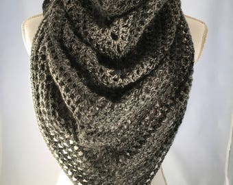 Crocheted Infinity Shawl