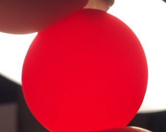 EINE 7 8 Zoll Jahrgang Kirsche rot Bakelit Roulette Chip 836ac0803969