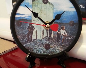 The Who - Who's Next - Desk Clock - Original - 5 inch Laminated Face / Daltrey/Townshend/Moon/Entwistle/ Behind Blue Eyes/ Tommy/My Wife