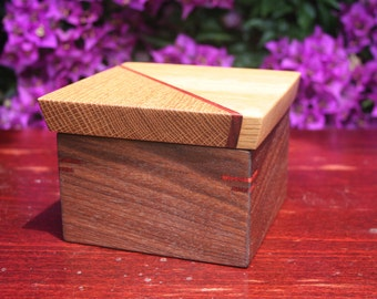 Business card box etsy business card box reheart Images