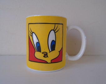 Tweety Pie coffee mug, Vintage, 1991 Warner Bros.