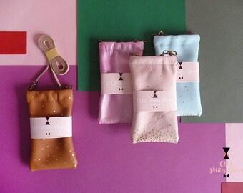 Pochette mini sac Clic Clac Danaé