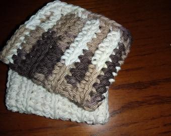 Dishcloth / Crochet / Handmade/ 100% Cotton Yarn