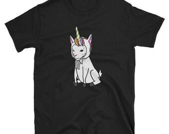Funny Unicorn Goat T-Shirt, Cute Goat Gifts