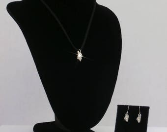 Sterling Silver Shell Set (2A)