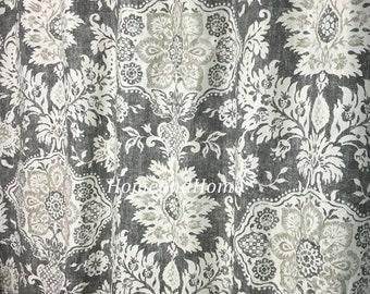 extra long shower curtain grey. Shower curtain Belmont Metal grey beige cream 72 x 84 96 108 long  Extra Custom Fabric Evelynne Slub Lemongrass ivory