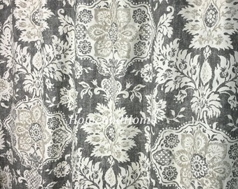 Shower Curtain Belmont Metal Grey Beige Cream 72 X 84 96 108 Long Shower  Curtain Extra