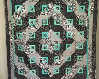 Black and White Rhapsody quilt