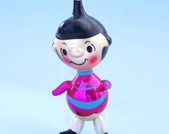 Vintage 1968 Peanuts Lucy Italy Handblown Glass Ornament Doll