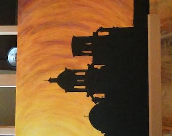 San Xavier Sunset