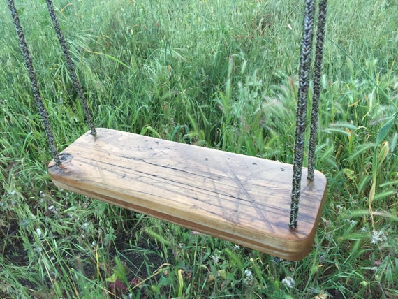 Custom Reclaimed Wood Swing   Solid Maple   Fall Decor   Tree Swing   Porch  Swing   Indoor Swing   Outdoor Swing **READY TO SHIP** Photo Gallery