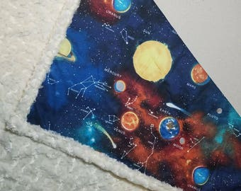 "36×54"" Out of this World throw"