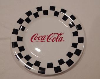 Coca Cola Dinner Plate