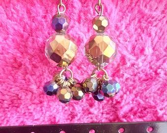 Boreal - Earrings - Crystal and glass