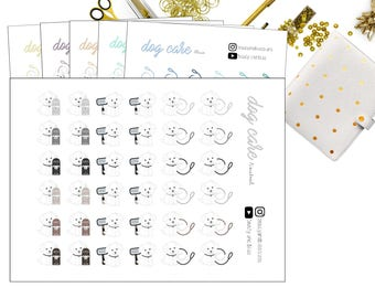 Dog Care | Planner Stickers