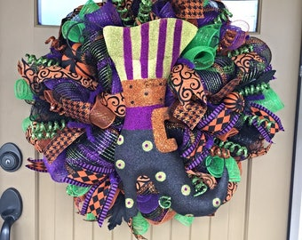Witch's Boot Wreath