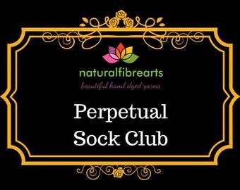 Yarn Club Perpetual Sock Yarn Club