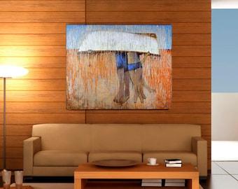 "Sale 20% off ""Together"" 40x50"" Beach Decor by B. Kravchenko"
