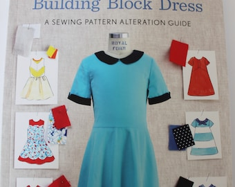 Building Block Dress by Liesl Gibson of Oliver and S, Dress Sewing, Sewing Pattern Book,