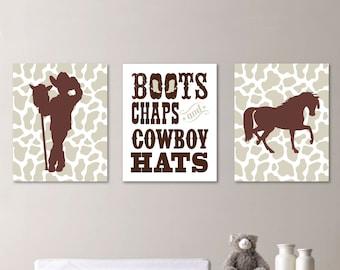 cowboy nursery etsy