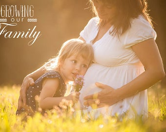 10 Maternity Word Overlays