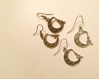 Paris in the Moon Earrings
