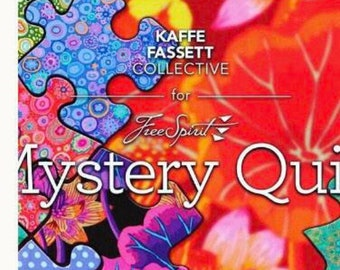 May's Light Puzzle Block For Kaffe Fassett's Mystery Quilt
