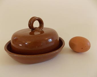 Stoneware Butter Keeper