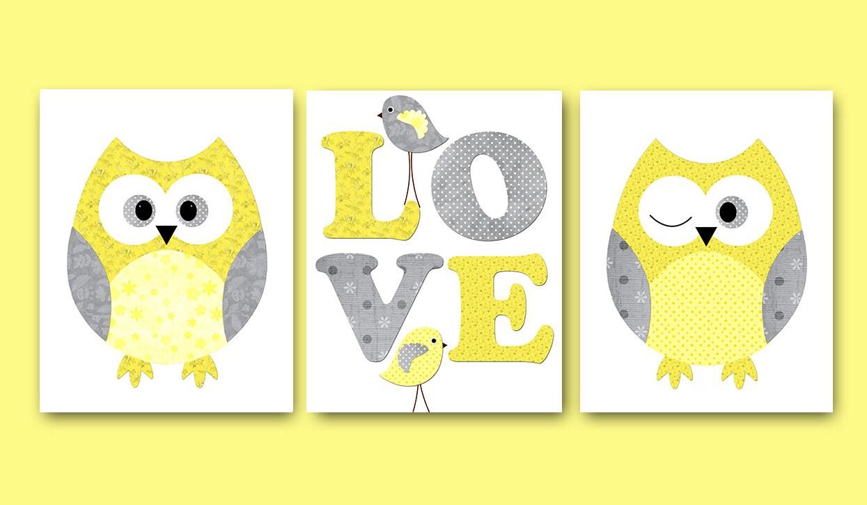 Fantastic Owl Wall Art For Nursery Gallery - The Wall Art ...
