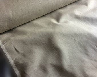100 % NATURAL pure LINEN fabric, natural softened linen, linen fabric for home textile, tablecloth, cloths, aprons, towels linen